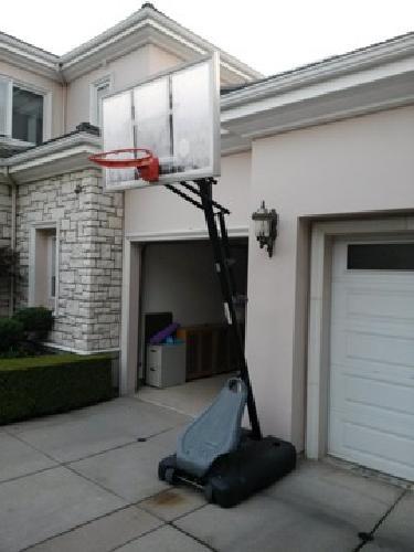 $120 OBO Hydra Rib Portable Basketball System 54