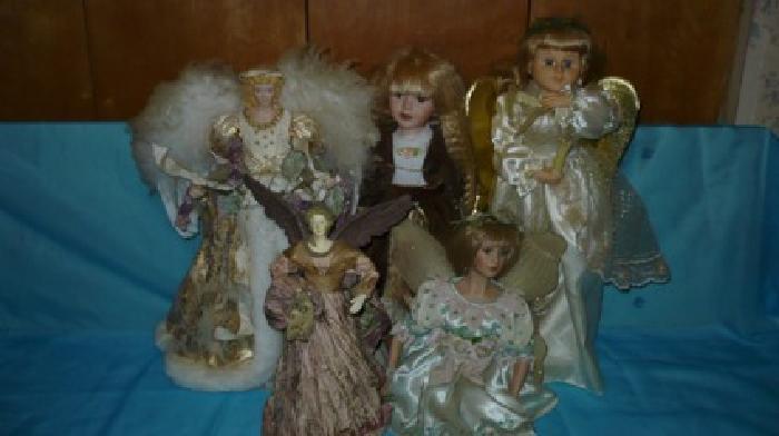 $120 porselin dolls