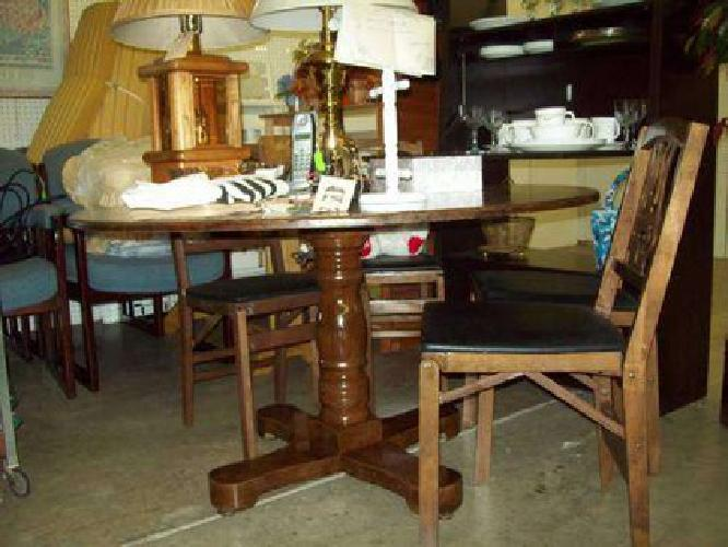 $120 Table and four chairs