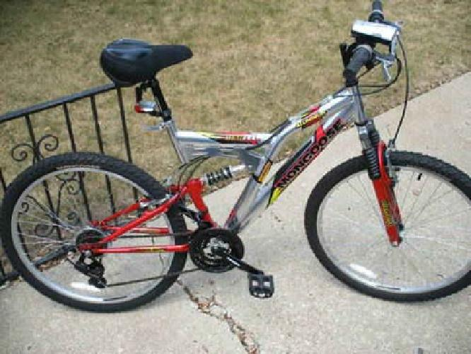 125 Mongoose 21 Speed Mountain Bike Aluminum Frame 26 Used One
