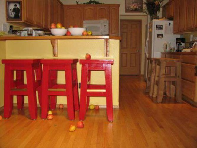 125 new custom made kitchen barstools and counterstools for Furniture maker seattle