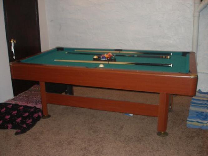 $125 OBO Sportcraft 7ft Pool Table