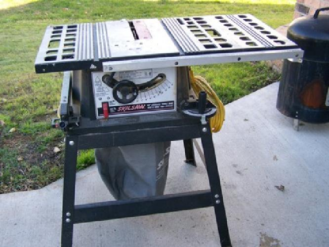 Great $125 Skilsaw Table Saw 10 Inch Blades