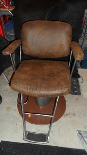 125 Two Vintage Belvedere Hair Salon Chairs With New