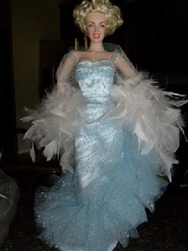 $129 Marilyn Monroe porcelain doll