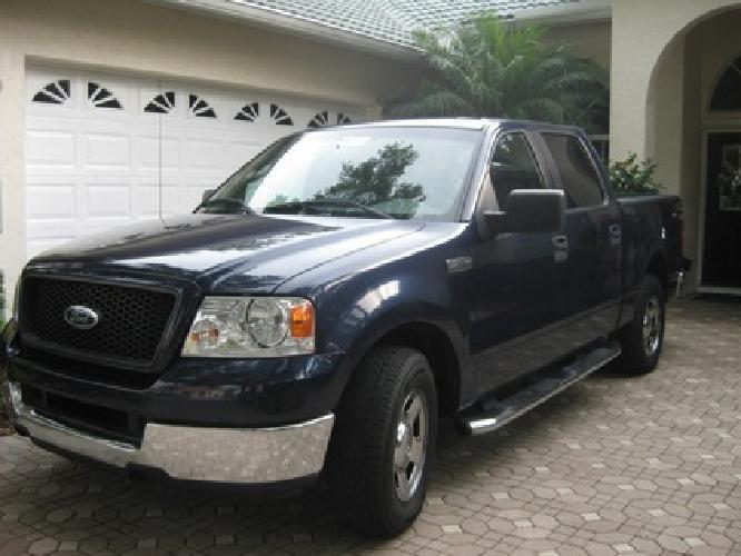$12,000 2005 Ford F150 XLT SuperCrew 2WD -