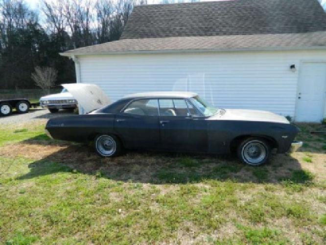 12 000 obo 1967 chevrolet impala 4 door hardtop supernatural 67 chevy 4dr for sale in quebeck. Black Bedroom Furniture Sets. Home Design Ideas