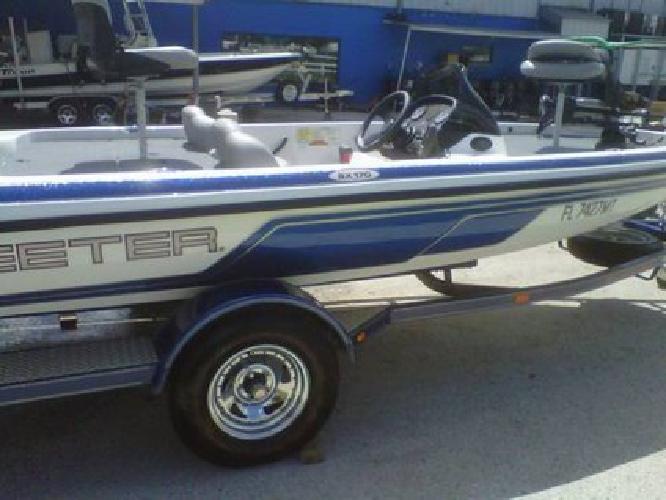 12 500 04 skeeter sx 170 bass boat w 90hp yamaha motor for Yamaha motor boats for sale