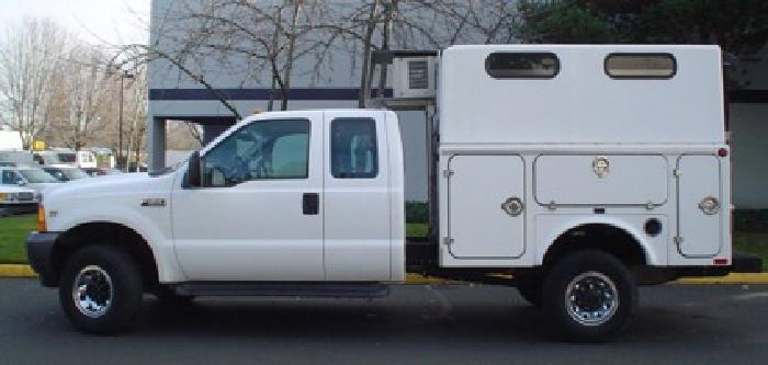 12 500 2001 ford f350 4x4 xl super duty 8 39 reefer truck for sale in portland oregon classified. Black Bedroom Furniture Sets. Home Design Ideas