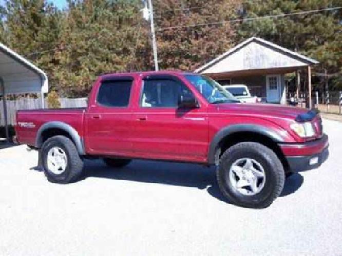 $12,500 2002 V6 Toyota Tacoma