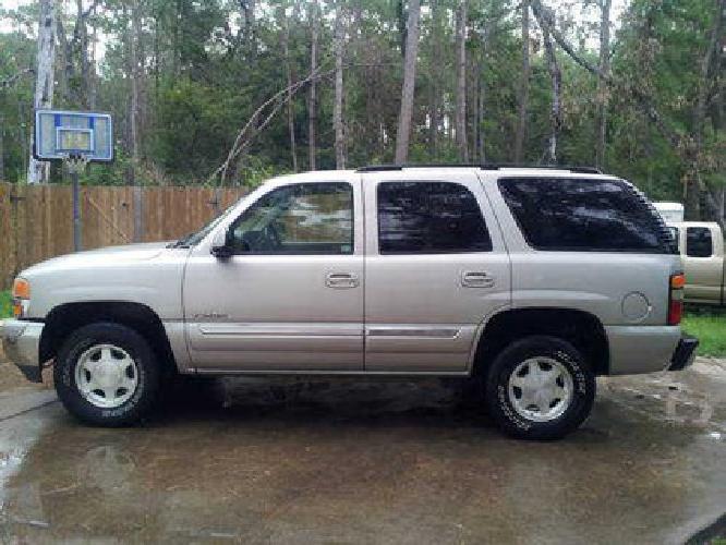 $12,700 2004 GMC Yukon XL 4X4 78,000 miles