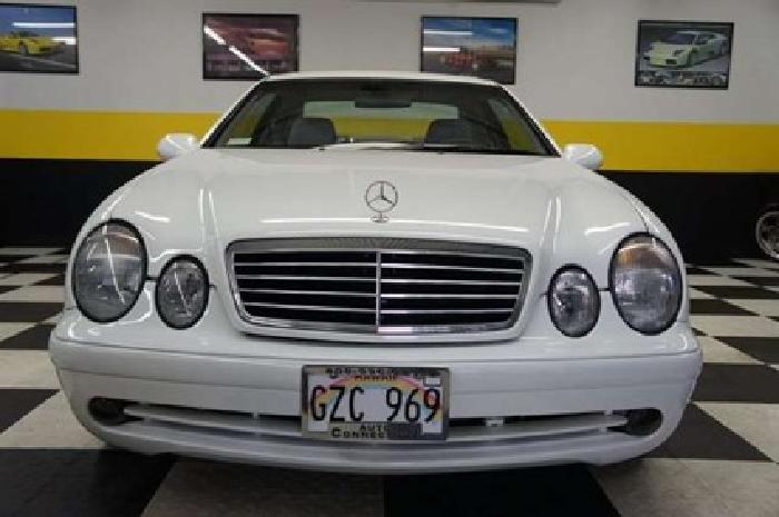 $12,900 1999 Glacier White Mercedes-Benz CLK-Class