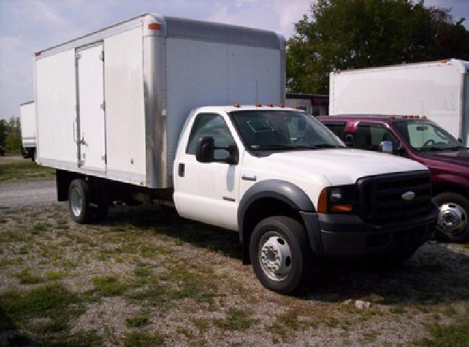 Emissions Testing Nashville Tn >> $12,900 2006 Ford F550 with 16-ft Van Body for sale in ...