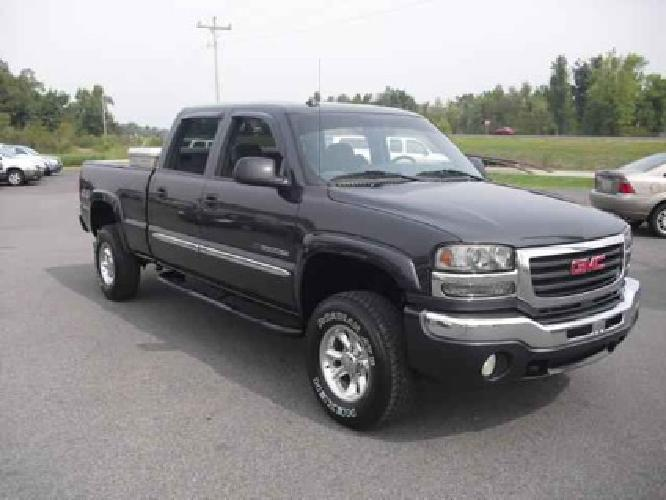 12 900 used 2005 gmc sierra 2500hd for sale for sale in mayfield kentucky classified. Black Bedroom Furniture Sets. Home Design Ideas
