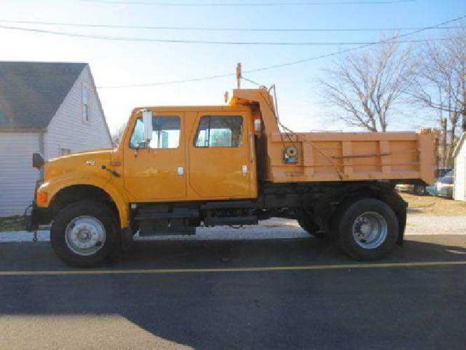 12 995 1997 international 4900 crew cab dump truck for sale in springfield missouri classified. Black Bedroom Furniture Sets. Home Design Ideas