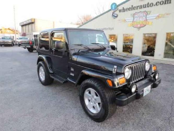 12 995 2003 Jeep Wrangler Sahara Edition For Sale In