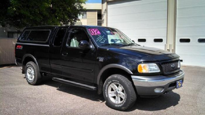 $12,998 OBO 2002 F150 Ext Cab 4X4 truck