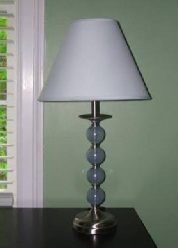 $12 Decorative Unique Silver Lamp