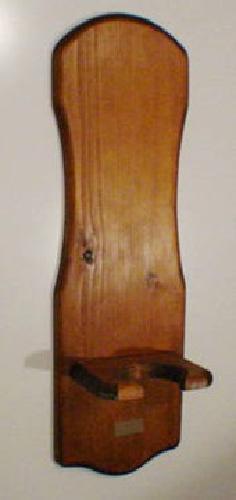 12 oil lamp wall hanger wooden holder for sale in patrick for Wooden kerosene lamp holder