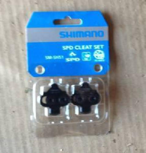 $12 Shimano SM-SH51 cleat set -New in packaging with mounting hardware