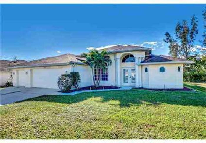 1314 SW 15th ST Cape Coral Three BR, Ideal for a vacation home or