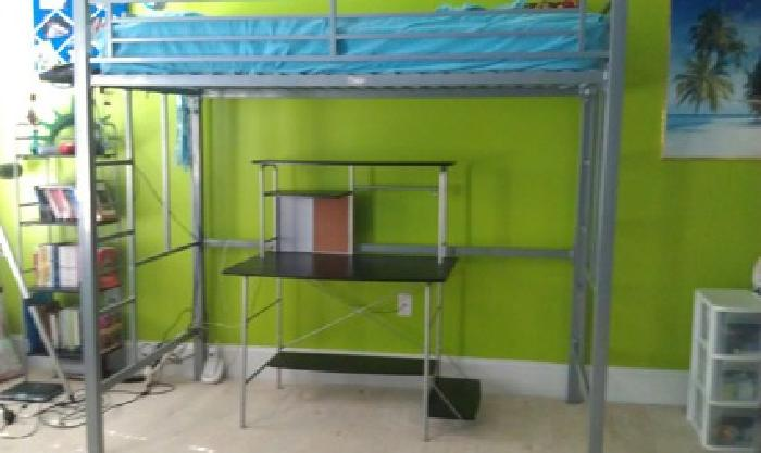 135 Obo Loft Bed And Student Desk For Sale In Huntsville Alabama Classified