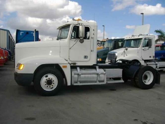 $13,000 2002 Freightliner FLD120 Single Axle Daycab for ...