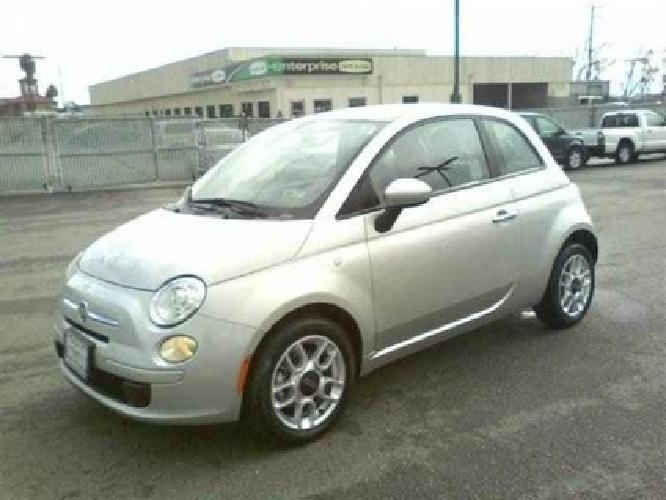 $13,499 2012 Fiat 500 Pop Hatchback 2D