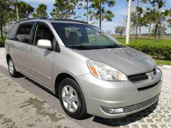 13 785 used 2005 toyota sienna for sale for sale in pompano beach florida classified. Black Bedroom Furniture Sets. Home Design Ideas