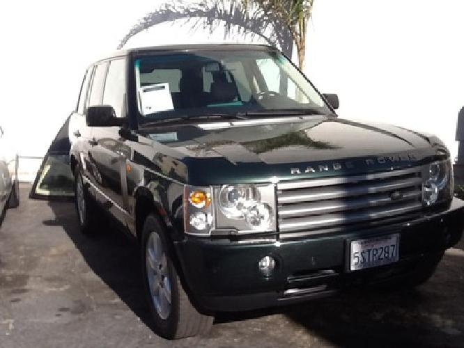 $13,995 2003 Land Rover Range Rover