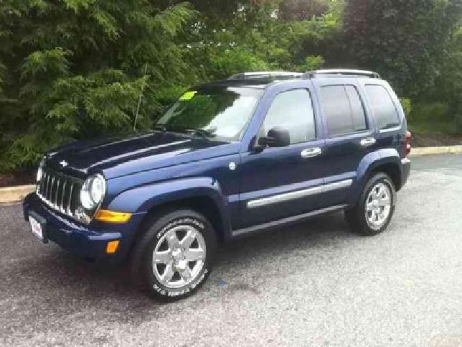 $13,995 2005 Jeep Liberty Limited