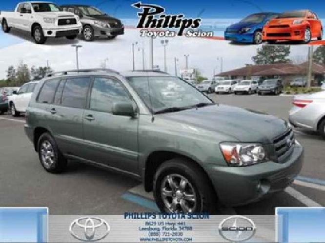 $13,995 2005 Toyota Highlander