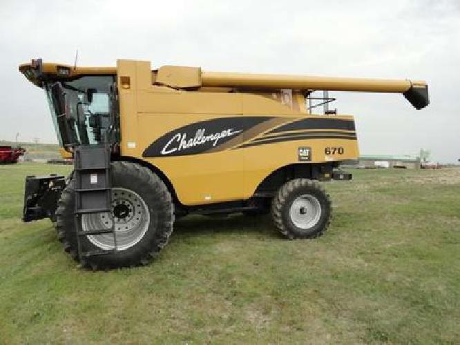 $140,000 2005 Caterpillar Challenger 670 Combine