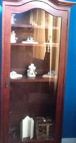 $140 Curio cabinets