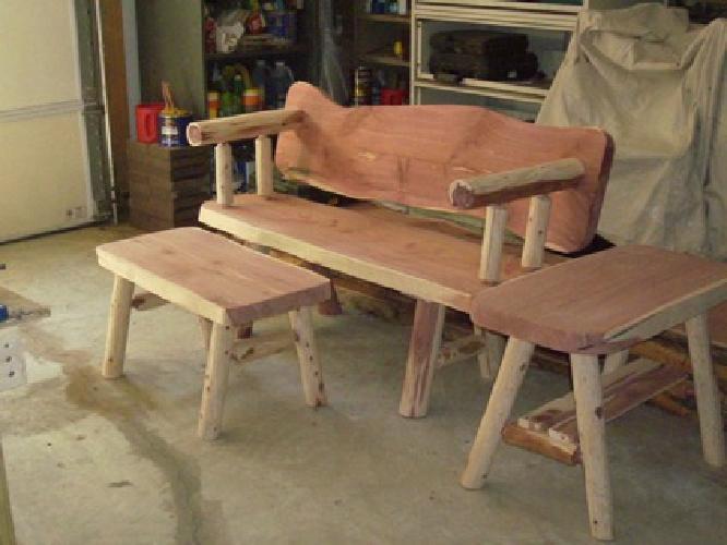 $140 Log Furniture for Sale