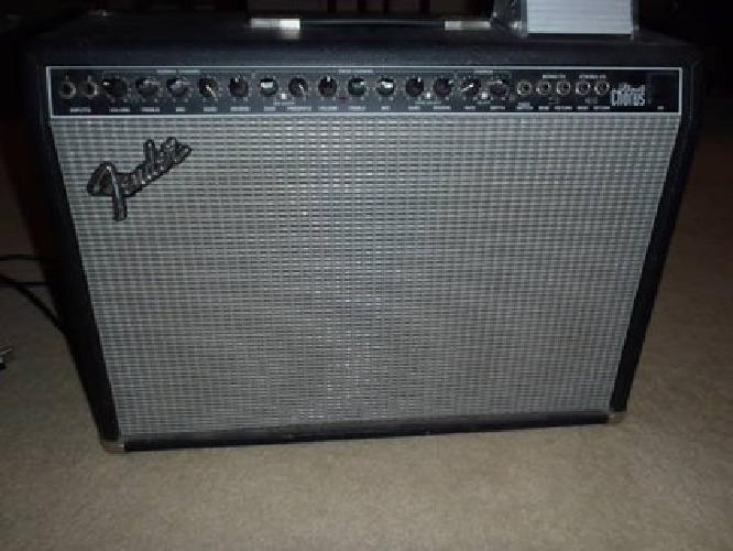 145 reduced fender ultimate chorus 2x12 guitar combo amp for sale in league city texas. Black Bedroom Furniture Sets. Home Design Ideas