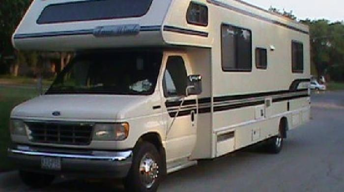 14 500 class c motorhome 1994 95 four winds ford e350 clean title for sale in fort worth texas. Black Bedroom Furniture Sets. Home Design Ideas