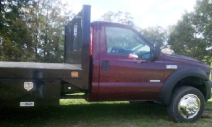 $14,500 OBO 2007 Ford F-450 XL Super Duty, Flatbed, Turbo Diesel, DRW
