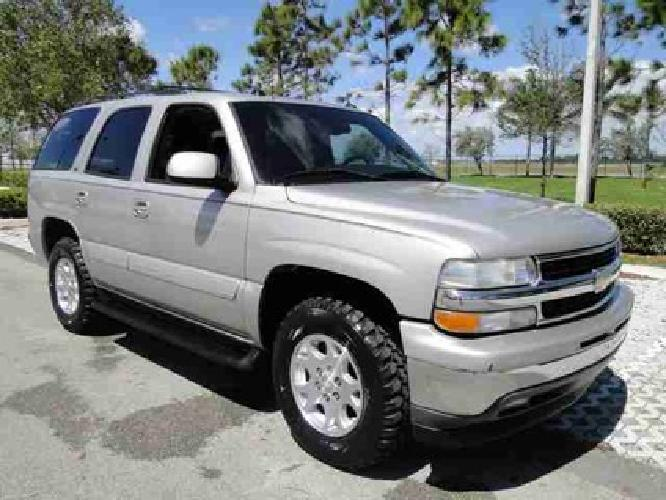 14 660 used 2005 chevrolet tahoe for sale for sale in pompano beach florida classified. Black Bedroom Furniture Sets. Home Design Ideas