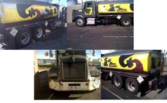 $14,850 1993 KENWORTH T450 Tanker Truck