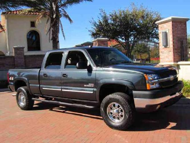 14 850 used 2004 chevrolet silverado 2500 for sale for sale in houston texas classified. Black Bedroom Furniture Sets. Home Design Ideas