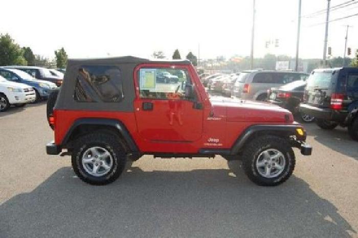 $14,903 2003 Jeep Wrangler Sport
