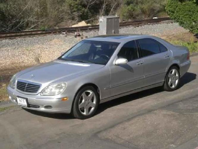 14 950 used 2001 mercedes benz s class for sale for sale for Used s500 mercedes benz for sale