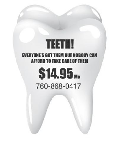 $14.95 Affordable Dental and Health program
