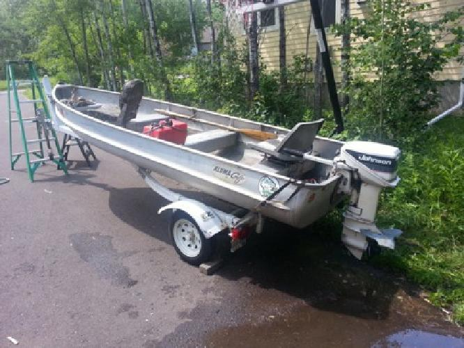 14 39 alumacraft fishing boat for sale in duluth minnesota for Fishing boats for sale mn