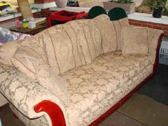 150 2 nice old style couches for sale each or for Nice sofas for sale