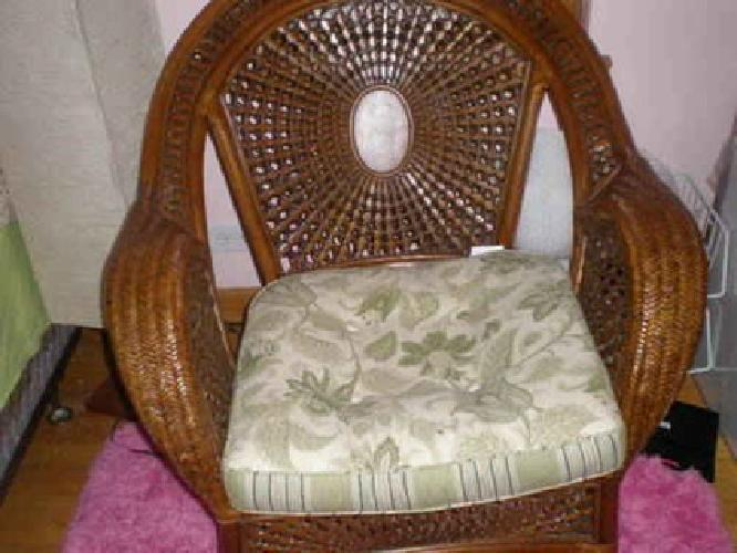 150 Azteca Chair And Ottoman With Cusions From Pier One