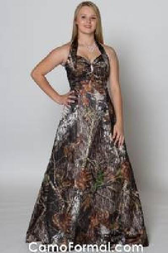 Evening Dress Sale on 150 Camo Prom Dress For Sale In West Terre Haute  Indiana Classified