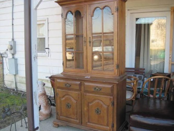 150 China Cabinet Hutch Made By Keller For Sale In Sardinia Ohio Classified