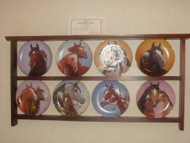 $150 Danbury Mint Collectable Horse Plates